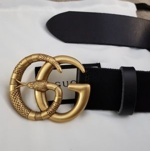 Gucci belt snake buckle
